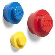 LEGO - Wall Hanger Set Yellow Blue Red