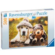 Ravensburger - Winter Labrador Puzzle 500pce