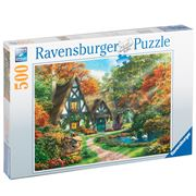 Ravensburger - Cottage In Autumn Jigsaw Puzzle 500pc