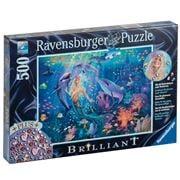 Ravensburger - Charming Mermaids Puzzle w/Gems 500 pce