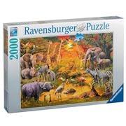 Ravensburger - Gathering At The Waterhole Jigsaw 2000pce