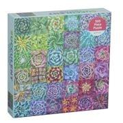 Galison - Succulent Spectrum Jigsaw Puzzle 500 Piece