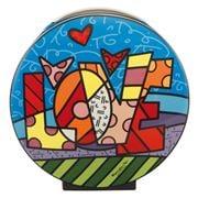 Goebel - Romero Britto Pop Art 'Love' Vase 20cm