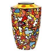 Goebel - Romero Britto Pop Art 'All We Need Is Love' Vase