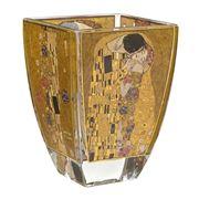Goebel - Gustav Klimt Artis Orbis 'The Kiss' Glass Vase 11cm