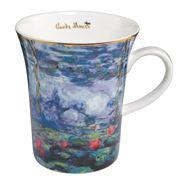 Goebel - Monet Artis Orbis 'Waterlilies Willow' Mug 400ml