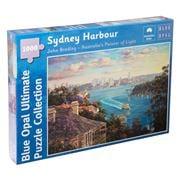 Blue Opal - John Bradley Sydney Harbour 1000pce