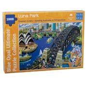 Blue Opal - Stephen Evans Luna Park Puzzle 1000pce
