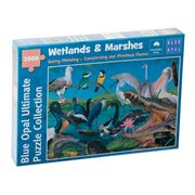 Blue Opal - Garry Fleming Wetlands & Marshes  Puzzle 1000pce
