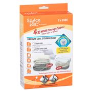 Space Vac - Vacuum Seal Storage Bag Set Large/Ex Large 2pce