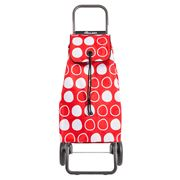 Rolser - I-MAX Symbol Convert RG Red Shopping Trolley 43L