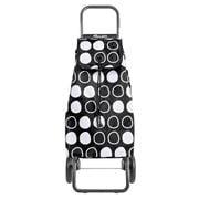 Rolser - I-MAX Symbol Convert RG Black Shopping Trolley 43L