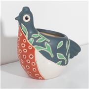 Jones & Co - Birdie Planter Blue