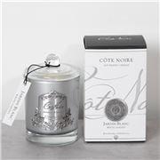 Cote Noire - Jardin Blanc White Garden Silver Candle 185g