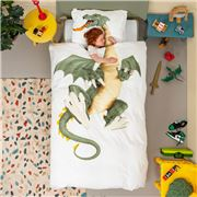 Snurk - Dragon Quilt Cover Single Set 2pce