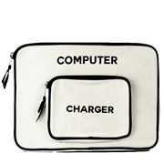 Bag All - Computer Case Small White