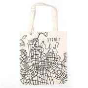 Bag All - Sydney Map Tote Bag