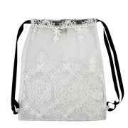 Bag All - Lace Backpack White