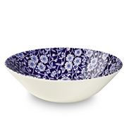 Burleigh - Blue Calico Cereal Bowl 16cm
