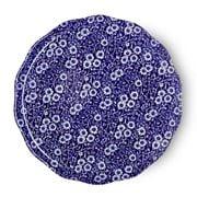 Burleigh - Blue Calico Cake Plate 28.5cm