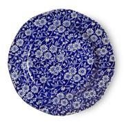 Burleigh - Blue Calico Plate 19cm
