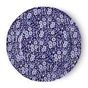 Burleigh - Blue Calico Plate 26cm