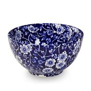 Burleigh - Blue Calico Sugar Bowl Small 9.5cm