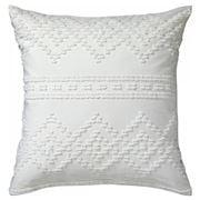 Logan & Mason - Idaho European Pillowcase White