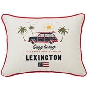 Lexington - Cotton Pillow Cover Surf Car White 30x40cm
