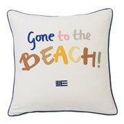 Lexington - Gone To The Beach Pillow Cover White 50x50cm