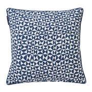 Lexington - Coral Printed Blue Pillow Cover 50x50cm