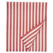 Lexington - Striped Cotton Table Runner Red 50x250cm