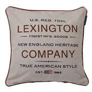 Lexington - American Brand Logo Sham Cushion Beige 50x50cm