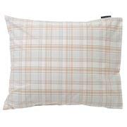 Lexington - Poplin Checked Madras Pillowcase Beige 50x75cm