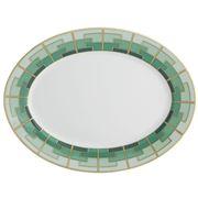 Vista Alegre - Emerald Oval Platter Small