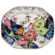 Vista Alegre - Tobacco Leaf Platter Large