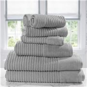 Jenny Mclean - Royal Excellency Towel Set 7pce Silver