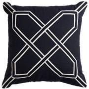 Paloma - Nantucket Cushion Black 50x50cm
