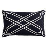 Paloma - Nantucket Cushion Black 30x50cm