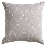 Paloma - Mykonos Linen Cushion Sand 50x50cm