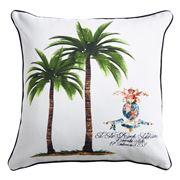 Paloma - Colonial Palm Duo Cushion 50x50cm