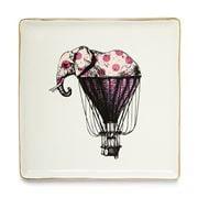 Gangzai - Elephant'R Porcelain Trinket Tray 16x16cm