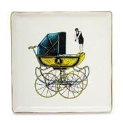 Gangzai - Land'Eau Porcelain Trinket Tray 15x15cm