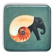 Gangzai - Shellephant Trinket Tray 15x15cm