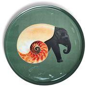 Gangzai - Shellephant Round Tray 33cm