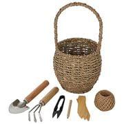 Coastal Home - Life Botanic Mini Garden Tools Basket 7pce