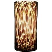 Coastal Home - Lexie Leopard Glass Cylinder Vase 12x25cm