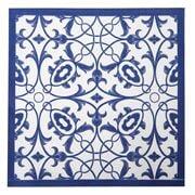 Coastal Home - Napkin Tile Print 20pk 33cm