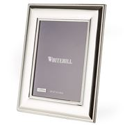 Whitehill - Silver Plated Frame Wide Bead 20x25cm