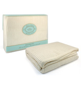 Branberry - White Cot Blanket